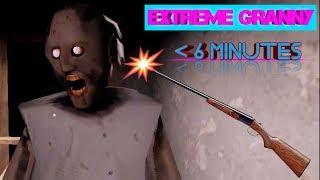 Granny Extreme Mode With Shotgun Less Than 6 Minutes