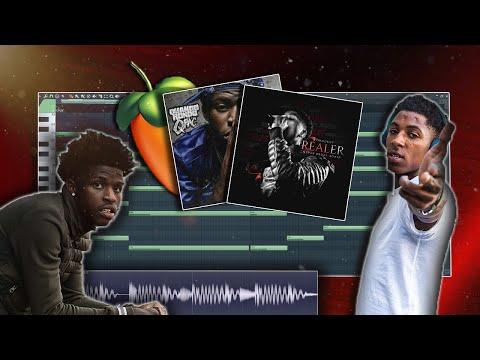 How To Make EMOTIONAL Beats For NBA Youngboy \u0026 Quando Rondo From Scratch! [FL Studio Tutorial]