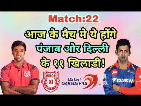IPL 2018 KXIP vs DD: Kings Eleven Punjab vs Delhi Daredevills Predicted Playing Eleven (XI)