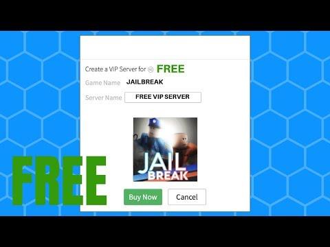 Free Vip Server Jailbreak Roblox