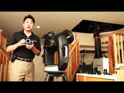hook up telescope to ipad
