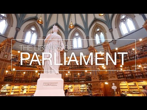 Visit Parliament: Tour The Library Of Parliament
