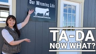 Erin's Big Announcement on a Little Wyoming Ranch