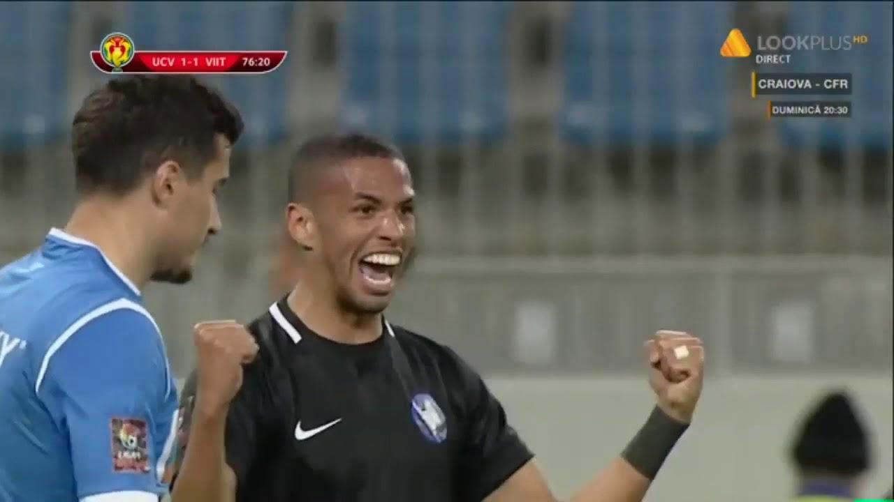 Rezumat: U Craiova - Viitorul 1-2 / meci tur semifinale Cupa Romaniei 2018-2019