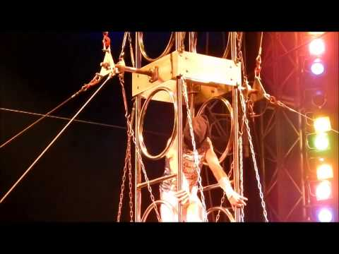 Circus Wheel Of Death Accident.