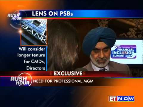 Banking Secretary GS Sandhu Keen On Improving Governance In PSUs