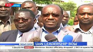 Leadership wrangles: I will continue running the office as the vice-chancellor -Prof. Stephen Kiama