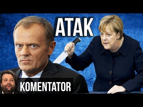Donald Tusk Zaatakował Polskę na ROZKAZ Angeli Merkel?