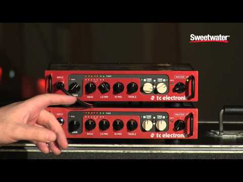 TC Electronic BH550 Bass Amplifier Demo - Sweetwater Sound