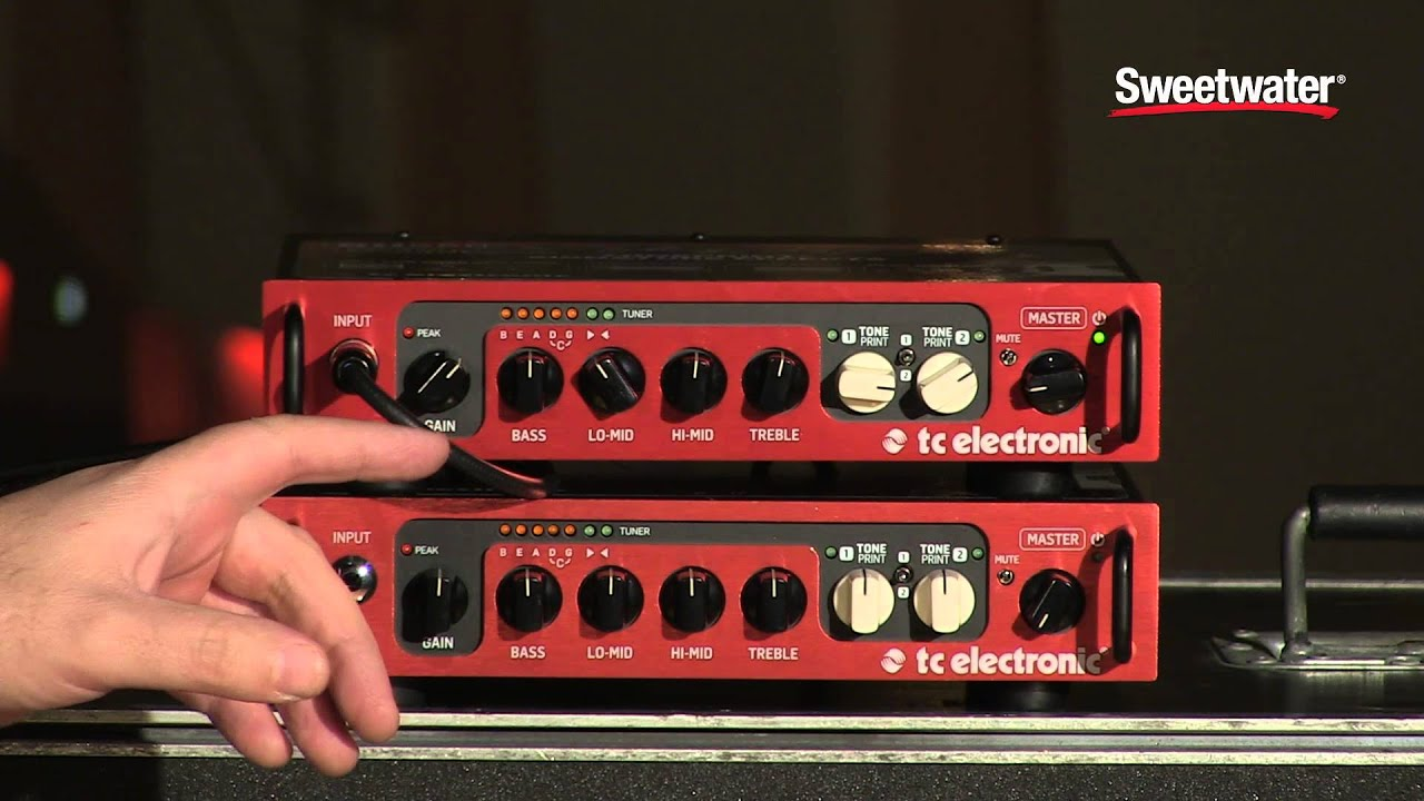 tc electronic bh550 bass amplifier demo sweetwater sound youtube. Black Bedroom Furniture Sets. Home Design Ideas