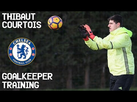 Thibaut Courtois / Goalkeeper Training / Chelsea Fc !