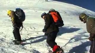 Le Mont Blanc par les trois Monts - 2002