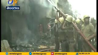 Fire Breaks Out | in Kolkata Bagree Market | No Casualties Reported