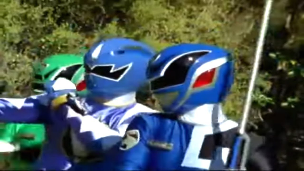 Wormhole Fight | Dino Thunder team Up | S.P.D. | Power Rangers Official