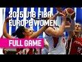 Russia v Portugal - Group B - Live Stream - 2015 U18 European Championship Women