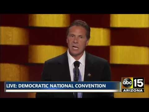 FULL: New York Governor Andrew Cuomo is not a Donald Trump fan - Democratic National Convention