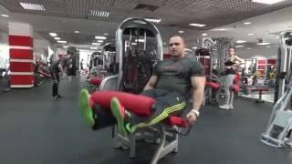 Бабич Ярослав. Тренировка ног с травмами колен