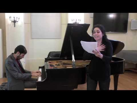 Rinat Shaham and Noam Sivan Improvise on a French poem