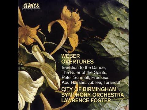 Carl Maria Von Weber Overtures Invitation to the Dance J 260