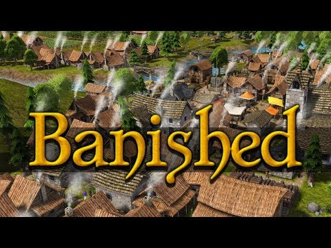 Banished- Progress update: 50 people and counting