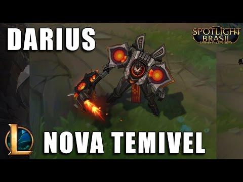 Darius Nova Temível - League of Legends (Pré BR)