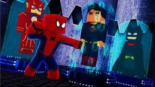 Minecraft - Who´s Your Hero - O HOMEM ARANHA SALVA A LIGA DA JUSTIÇA - [VINGADORES ULTIMATO]