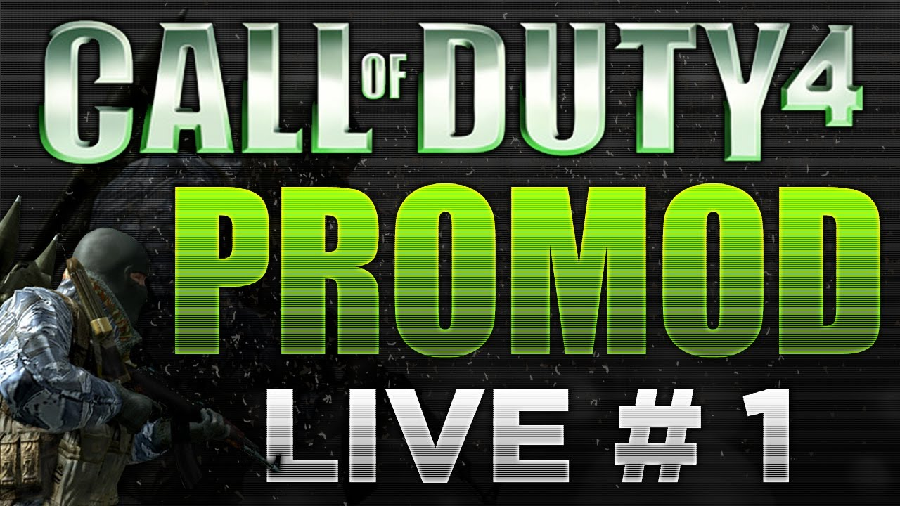 how to get promod cod4