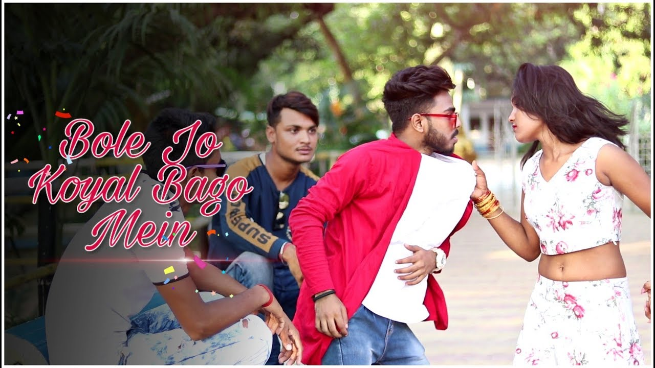 Bole Jo Koyal Bago Mein || Cute Love Story || New Hindi Song by ColorLess Life || Ft. Biddut & Riya