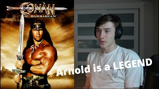 CONAN THE BARBARIAN (1982) Movie Reaction - FIRST TIME WATCHING