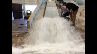 Engineers Test Oroville Replica for Dam Safety