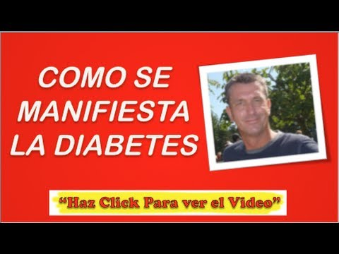 Cómo Se Manifiesta La Diabetes | Pre Diabetes - YouTube