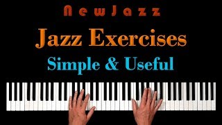 Download Simple PIANO EXERCISES for Advanced JAZZ IMPROVISATION