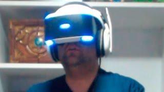 PLAYSTATION VR PRIMEIRO GAMEPLAY, UMA DELÍCIA NA REALIDADE VIRTUAL