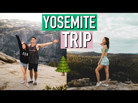 YOSEMITE TRAVEL VLOG! | Meredith Foster