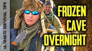 Dual Survival - LIVING in a FROZEN CAVE / WINTER Burrrrr...
