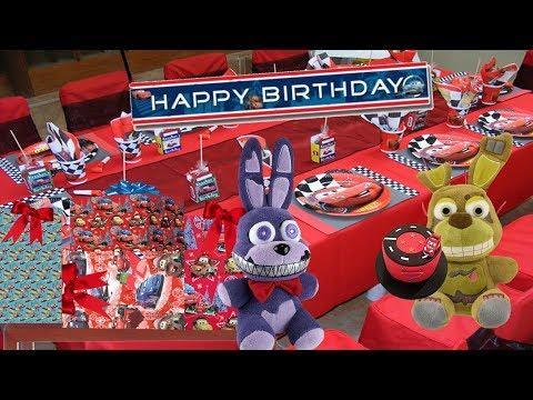 Fnaf Plush- Nightmare Bonnie's Birthday!!!