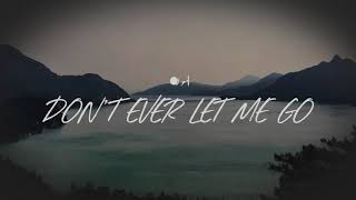Corey Voss - Don't Ever Let Me Go (Lyrics)