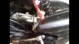 Хонда такт Honda takt 24 с карбюратором от Альфы.Honda takt 24 carburetor alpha