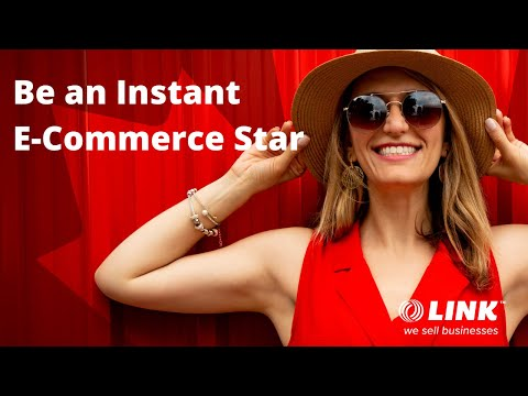Be an Instant E-COMMERCE STAR  when you buy this Hip ONLINE BUSINESS from LINK Business Brokering