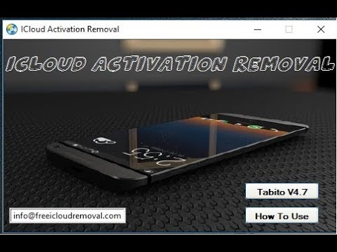 How To Bypass ICloud Activation Lock Removal Any iPhone With Tabito V4.7 - 동영상