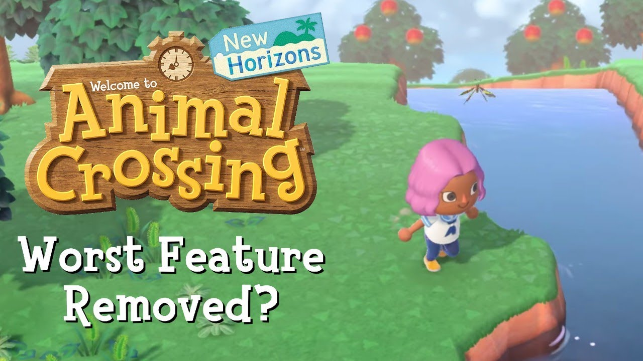 Worst Feature Removed In Animal Crossing New Horizons Youtube