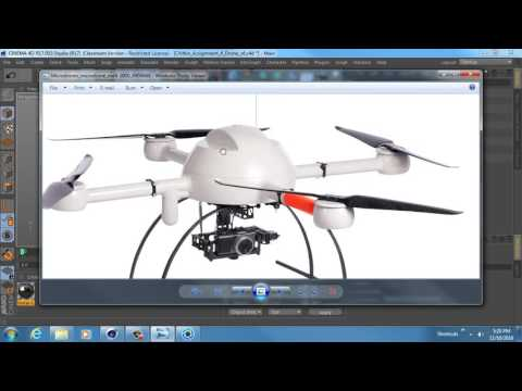 MACA 2510 - Assignment 4 - Drone Modeling Part 3