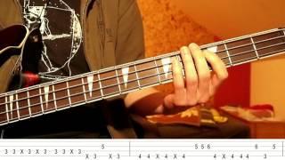 Jamiroquai - Runaway (Bass Tutorial with TABS on screen)