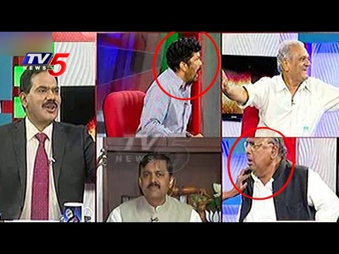 Posani And  Hanumantha Rao Fight In Live Debate | Top Story | Telugu News | TV5 News