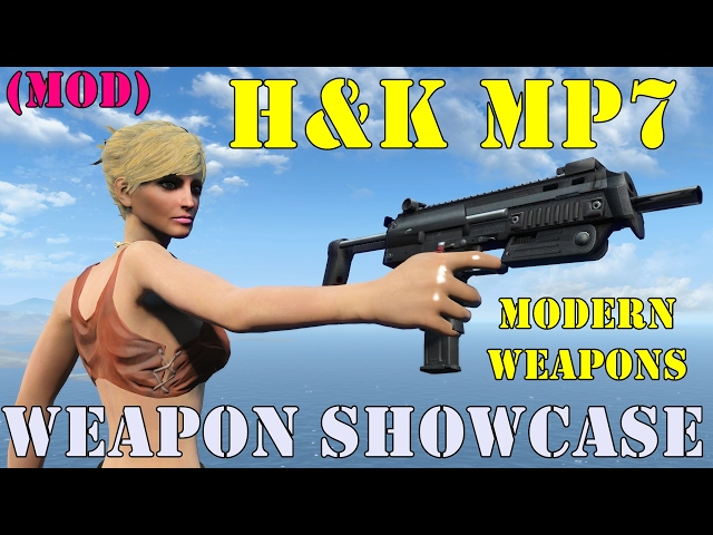 Fallout 4: Weapon Showcases: H&K MP7 (Modern Firearms