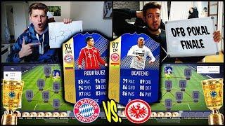 DFB POKAL FINALE Bayern vs. Frankfurt Squad Builder Battle vs. Wakez! 🏆🏆 Fifa 18 Ultimate Team