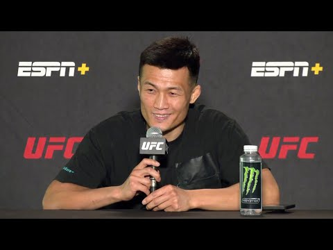 The Korean Zombie is Ready for a Brawl on Saturday