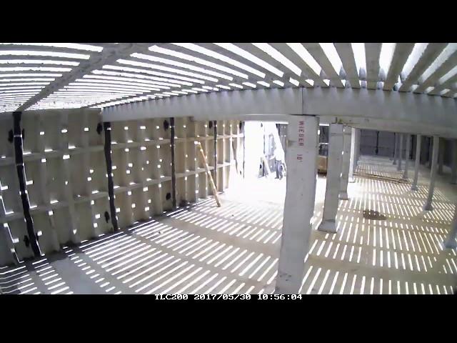 Gav-N-View Slatted Floor Installation by Wieser Concrete