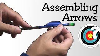 archery-assembling-arrows