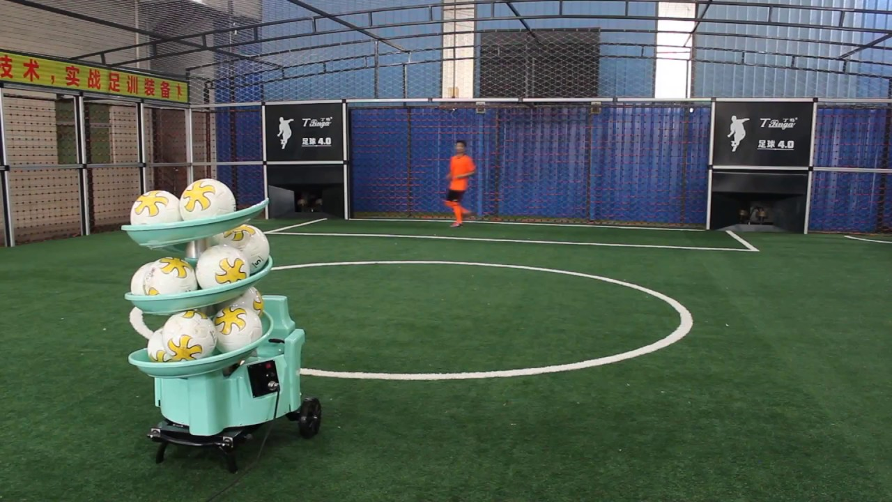 NEW design SIBOASI latest football soccer training shooting machine S6526